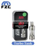 Alibaba China Suplier High Quality Products 3.5ml Capacity Bottom and Top Airflow Control Original Horizon Arctic Turbo Tank