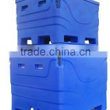 rotomolded fish transport totes live fish storage container fish bin insulation