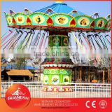 Exciting swing rides for sale ! Luxury flying chairs 24 seats outdoor amusement park ride