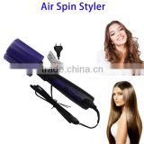 Alibaba New Arrival Multifunctional Electrical Rotating Air Spin Styler Hair Straightener Brush Hair Curler