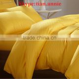 Bedding bedding set hotel bedding Bedding set with yellow color High quality bedding set China factory wholesale