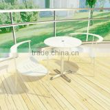 Round Garden Table And Chair Villa Modern Cheap Outdoor Furniture Set                                                                         Quality Choice