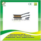 3pcs mini plastic handle wire brush