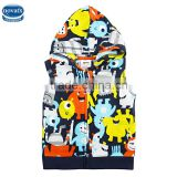 (A2906) Nova kids fatory navy 18M-5Y baby boy waistcoat soft children baby boy vest with hoodie cheap clothes