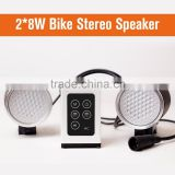 Bike Accessories 2016 Round Power Bank Speaker Mini Music, Bluetooth Speaker for Bicycle