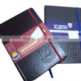 Mini notebook with elastic band,stationery,pocket note pad,cheap stationery,