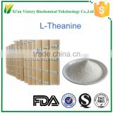 100%High quality pure L-Theanine 2-Amino-4-(ethylcarbamoyl)butanoic acid ETHYL-L-GLUTAMINE