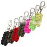 hot sale paracord zipper puller key rings zipper puller clothing and backpack zipper puller