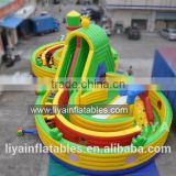 giant inflatable amusement park, commercial inflatable fun city, outdoor kids inflatable playground