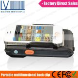 2014 NEW Multifunctional Bluetooth HF/UHF Long Range RFID Reader, 1D 2D Barcode Readable