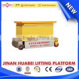 China newly designed model Rough Terrain Aerial Working Platform Self Driven Scissor Lift
