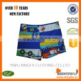 Factory Wholesale Cheap Kids Boys Swimwear Swim Brief Custom Made Swimming Trunks With Cute Patterns And OEM Service