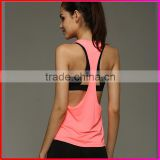 Women Polyester Quick Dry Loose Sexy Stringer Tank Top                                                                         Quality Choice