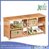 Chinese wholesale suppliers wood shoe rack high demand products in market                                                                         Quality Choice