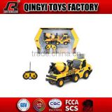 Toy world rc car 1:20 6 channel mini concrete mixer rc toys cars for sale from Shantou chenghai factory