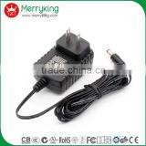 Wall mount JP plug 12W switching power supply 12V1A PSE approved AC DC adapter wholesale