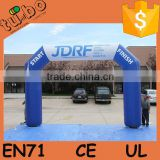 hot sale custom inflatable rainbow arch, inflatable finish line arch, inflatable entrance arch for sport race