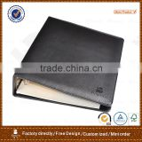 post binder leather file folder made in China&notepad holder folder&meeting folder
