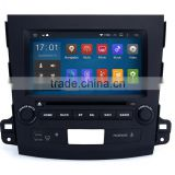 8 Inch 1024 600 car radio dvd with gps mirror for Mitsubishi Outlander 2007 2011