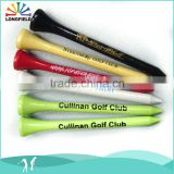 wholesale wood top golf tee maker with custom logo package