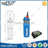 Sailflo Perfect Stainless Strainer Submersible 24V DC Solar Well Pump Water Pump with solar controller