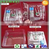 vacuum formed plastic ampoule bottles container