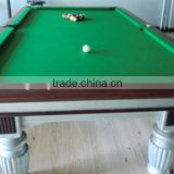 Standard size billiard table/Pool table in 7ft,8ft,9ft