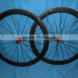 700C 50mm Clincher Road Carbon Rims Wheelset Bike Wheelet Bicycle Road Wheels Factory Price