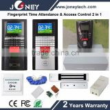 fingerprint scanner smart card door wireless access control and attendance systems human resources