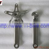 XACD Titanium Bicycle Crank Arm and Spider titanium bike crank arm Taper squared style crank arm