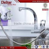 New design brass kitchen faucet, Kitchen faucet with shower head, pull out spray kitchen faucet