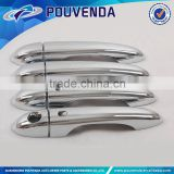 chrome door handle cover with smart keyhole For Jeep Cherokee 2014 Car exterior accessories