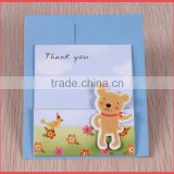 2014 new design baby born greeting cards wholesale