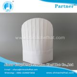 60g disposable non woven round top chef hat 28cm*30cm