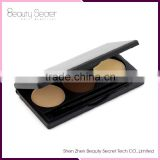 Cosmetic art eyebrow pencil,eye brow powder palette with 3 colors