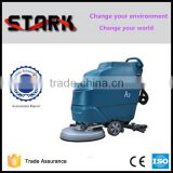 Battery powered hand held floor scrubber dryer with Ametek motor,auto floor scrubber machine