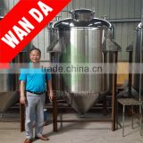 stainless steel Vacuum alcohol fermentation tank1000L Stainless Steel Beer Fermentation Tanks for Sale/dispensing tank