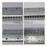 Chinese aluminium alloy comb floor plate for escalator spare parts