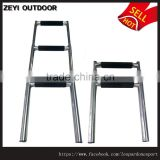 3 Step Stainless Steel Telescoping Marine Boat Ladder