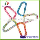 Promotional Printed Keychain D Carabiner,Carabiner With Split Ring Bulk