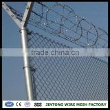 galvanized cyclone wire mesh fence length of the roll
