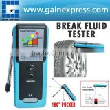 Car Truck Brake Fluid Tester with LED Indicator & 180 degree Pucker + Built-in Buzzer