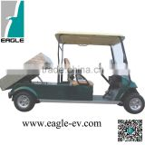 battery golf buggy approved with hydraulic lifted cargo box, EG2048ZT2