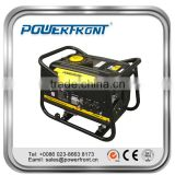 High quality 6.5hp engine recoil start or electric start 2kva portable gasoline generator set