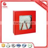 Canvas fire hose price with fire hose cabinet