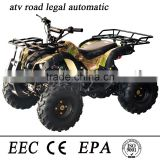 125cc atv road legal automatic