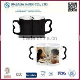 Wholesale New Design Ceramic Coatings Photo Magic Mug