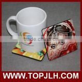 High quality sublimation wood coffee cup coaster