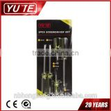 5pcs screwdriver set a better quality of packaging and mini screwdriver&pocket screwdriver&mini screwdriver set