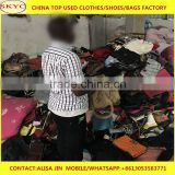 Dongguan used bags clothing factory used traveling bags and school bags bales mixed cheap sale for Africa